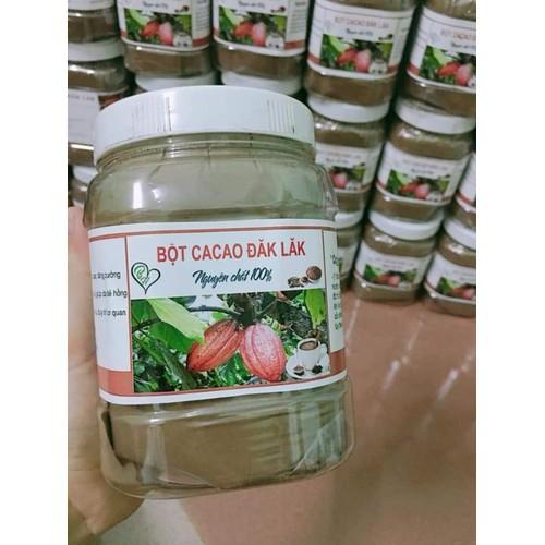 500g Bột cacao nguyên chất Đắk Lăk
