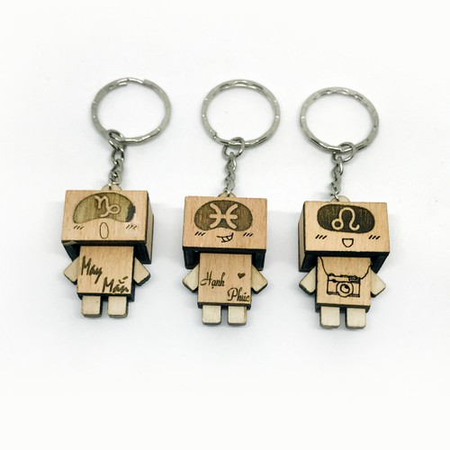 Móc khóa danbo gỗ khắc hình cung hoàng đạo - 8970088 , 18604593 , 15_18604593 , 58000 , Moc-khoa-danbo-go-khac-hinh-cung-hoang-dao-15_18604593 , sendo.vn , Móc khóa danbo gỗ khắc hình cung hoàng đạo