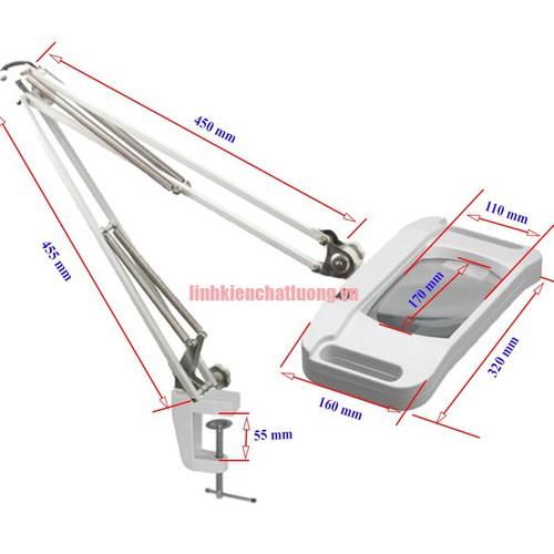 Kính lúp kẹp bàn LT-86G 10X đèn LED - 8975716 , 18613921 , 15_18613921 , 875000 , Kinh-lup-kep-ban-LT-86G-10X-den-LED-15_18613921 , sendo.vn , Kính lúp kẹp bàn LT-86G 10X đèn LED