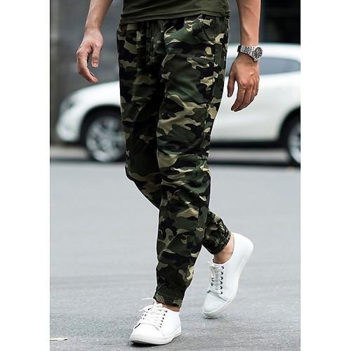 [Free ship đơn hàng từ 99k] quần jogger rằn ri  khóa zip chân năng động jr55
