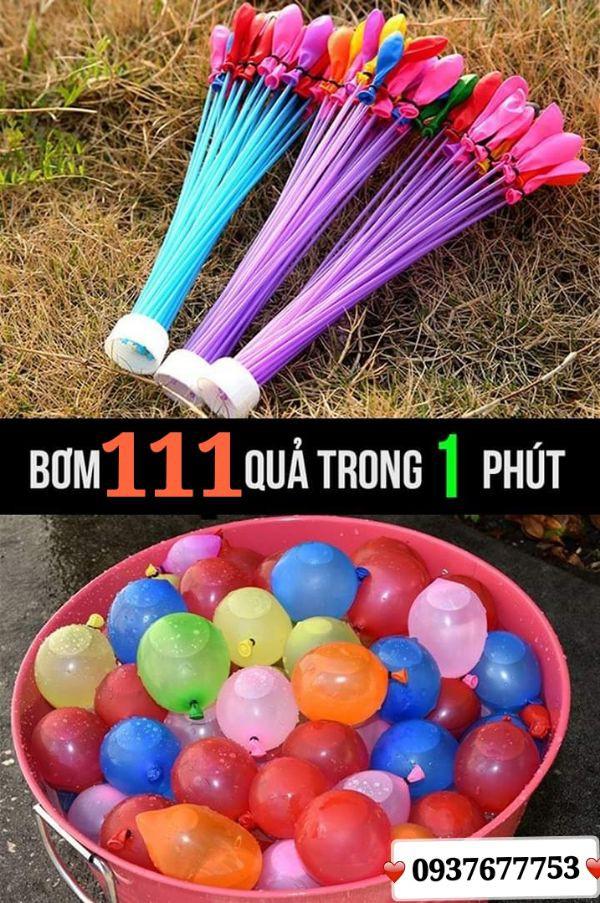 Bong Bóng Nước - Bong Bóng Chùm 111 Quả 6