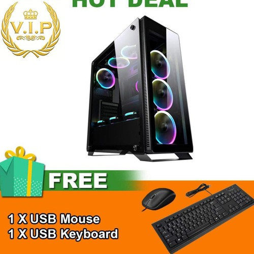 Trâu Cày Game VIP i5 3470, Ram 8GB, SSD 500GB, VGA GTX1050 2GB TSPGA5 + Quà Tặng