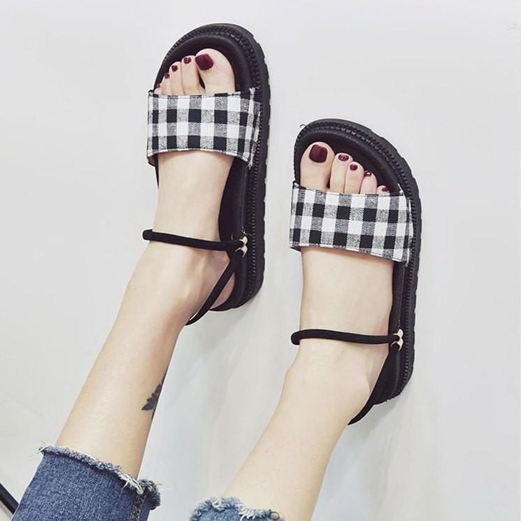 Giày sandal bánh mì HQ retro  Giày sandal bánh mì 4