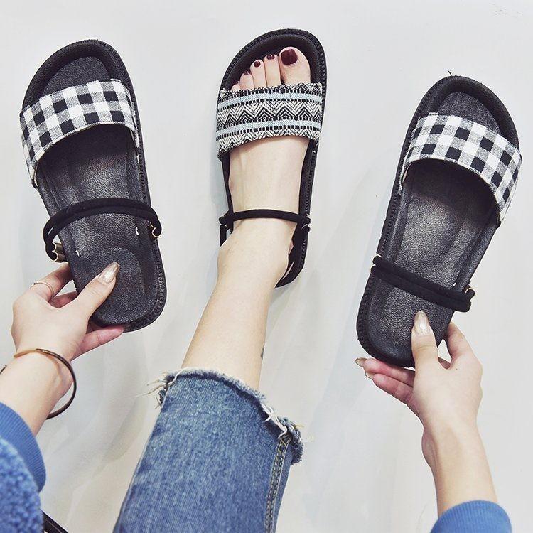 Giày sandal bánh mì HQ retro  Giày sandal bánh mì 3