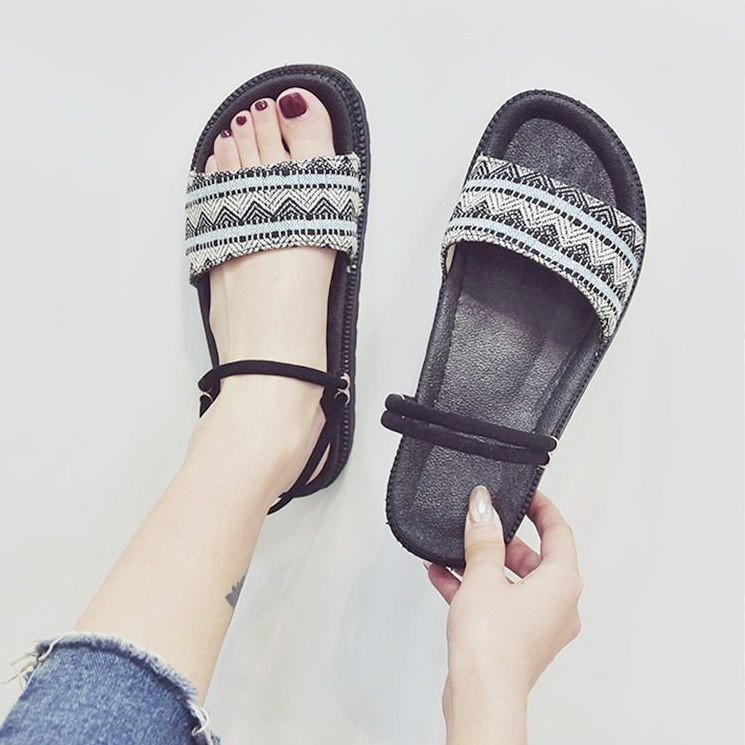 Giày sandal bánh mì HQ retro  Giày sandal bánh mì 6
