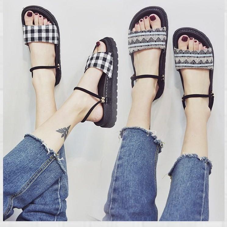 Giày sandal bánh mì HQ retro  Giày sandal bánh mì 5