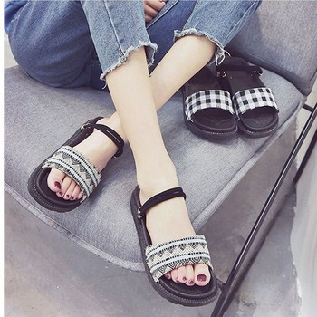 Giày sandal bánh mì HQ retro  Giày sandal bánh mì