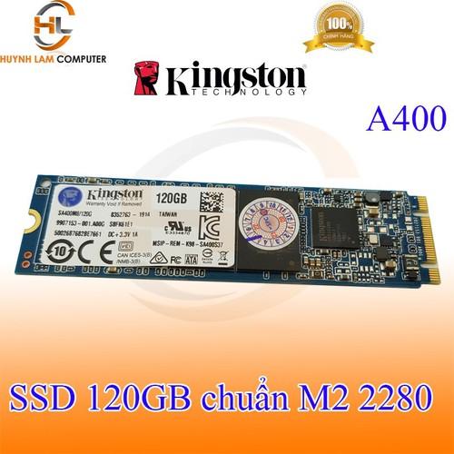 SSD 120gb - SSD 120gb KingSton A400 M2 2280 chính hãng Vĩnh Xuân phân phối