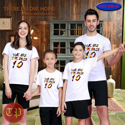 Combo 4 áo thun gia đình GD - 017