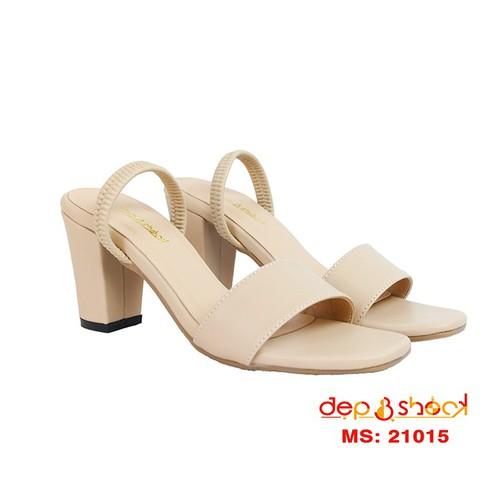 Giày cao gót nữ size lớn size nhỏ-giày sandal hậu thun ngoại cỡ full size từ size 33 đến 43