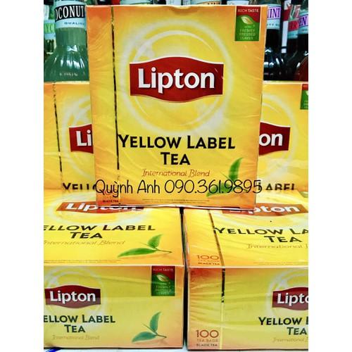Trà Lipton túi lọc 100 túi - 7639999 , 18603414 , 15_18603414 , 75000 , Tra-Lipton-tui-loc-100-tui-15_18603414 , sendo.vn , Trà Lipton túi lọc 100 túi