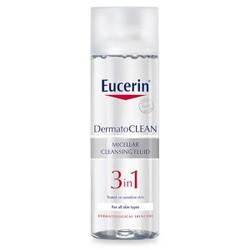 Eucerin - Nước Tẩy Trang Cho Mọi Loại Da 200ml DermatoClean 3 in 1 Micellar Cleansing Fluid