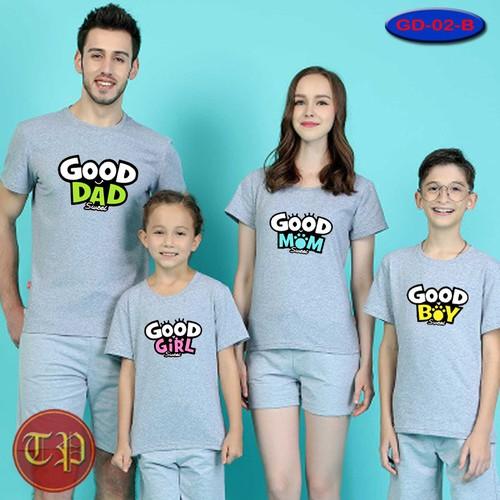 Combo 4 áo gia đình GD -06