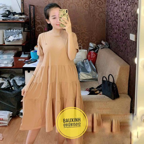 váy bầu suông A