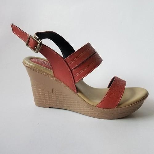 Giày Sandal Nữ Đế Xuồng Da Bò Thời Trang -  G5900