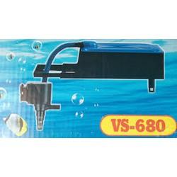 Máy bơm bể cá VS-680 - Bộ Máng và Máy Bơm Lọc Nước Hồ Cá - Có bông lọc