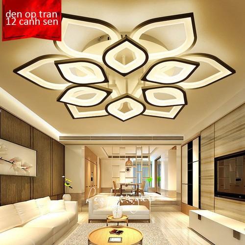 Đèn Led Ốp Trần Trang Trí - đèn trần trang trí thiết kế theo ý tưởng cánh sen hồng - đèn có 3 chế độ sáng tiết kiệm năng lượng được điều khiển từ xa tiện lợi - 8970904 , 18605762 , 15_18605762 , 3200000 , Den-Led-Op-Tran-Trang-Tri-den-tran-trang-tri-thiet-ke-theo-y-tuong-canh-sen-hong-den-co-3-che-do-sang-tiet-kiem-nang-luong-duoc-dieu-khien-tu-xa-tien-loi-15_18605762 , sendo.vn , Đèn Led Ốp Trần Trang Trí