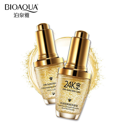 Dưỡng da tinh chất 24K Bioaqua chai 30ml chính hãng