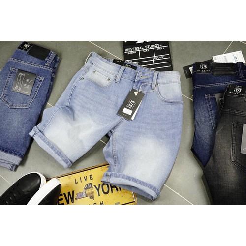 Quần short jean nam hiện đại
