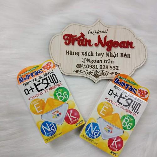 Thuốc nhỏ mắt Rohto vitamin  vàng Nhật Bản - 4812321 , 18637110 , 15_18637110 , 75000 , Thuoc-nho-mat-Rohto-vitamin-vang-Nhat-Ban-15_18637110 , sendo.vn , Thuốc nhỏ mắt Rohto vitamin  vàng Nhật Bản