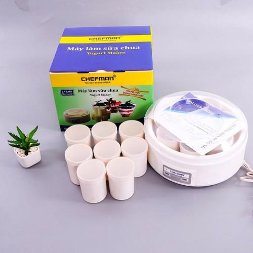 Máy làm sữa chua tặng kèm 8 cốc nhựa