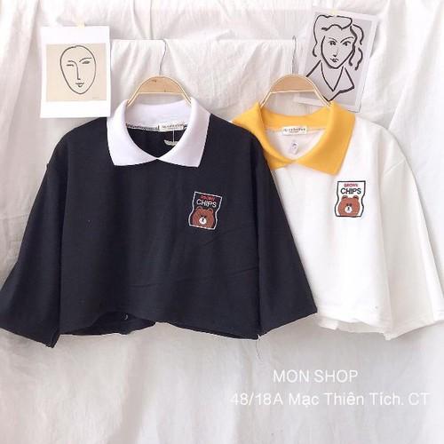 áo thun nữ croptop - 4998838 , 18638411 , 15_18638411 , 69000 , ao-thun-nu-croptop-15_18638411 , sendo.vn , áo thun nữ croptop