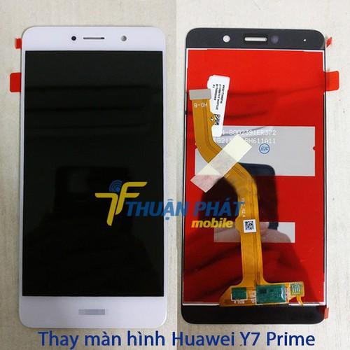 Màn hình điện thoại Huawei Y7 prime trắng