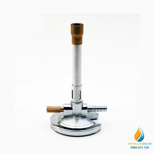 Đèn đốt khí gas, đèn đót khí Bunsen chất lượng cao, thép không gỉ