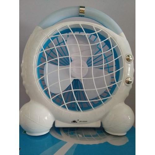 Quạt sạc tích điện có Led Mini fan JR-5500 - 7642612 , 18626583 , 15_18626583 , 150000 , Quat-sac-tich-dien-co-Led-Mini-fan-JR-5500-15_18626583 , sendo.vn , Quạt sạc tích điện có Led Mini fan JR-5500