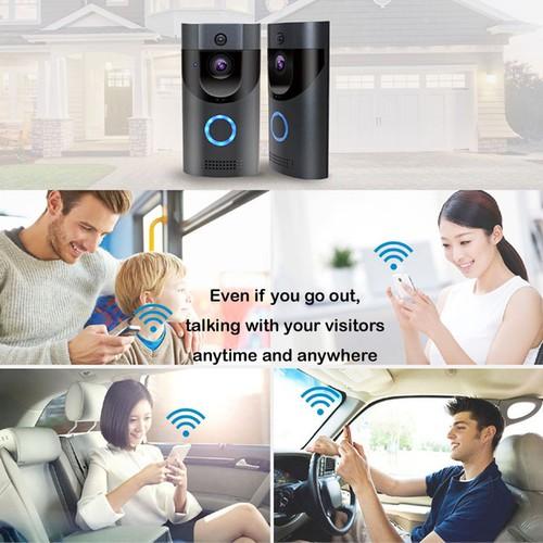 Chuông cửa thông minh không dây wifi B30 chống thấm nước, trò truyện video, tích hợp tầm nhìn đêm, APP di động - 8981747 , 18622958 , 15_18622958 , 1845000 , Chuong-cua-thong-minh-khong-day-wifi-B30-chong-tham-nuoc-tro-truyen-video-tich-hop-tam-nhin-dem-APP-di-dong-15_18622958 , sendo.vn , Chuông cửa thông minh không dây wifi B30 chống thấm nước, trò truyện vid