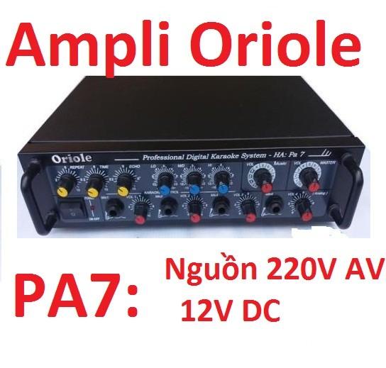 Amply Oriole HA-PA7-amply karaoke gia đình - HA-PA7