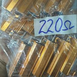 Điện trở nhôm 220om 50w - Điện Tử Phúc Anh
