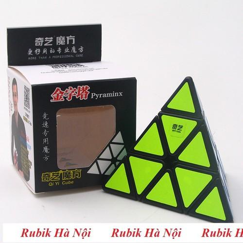 Rubik Pyraminx Qiyi Qiming A Đen