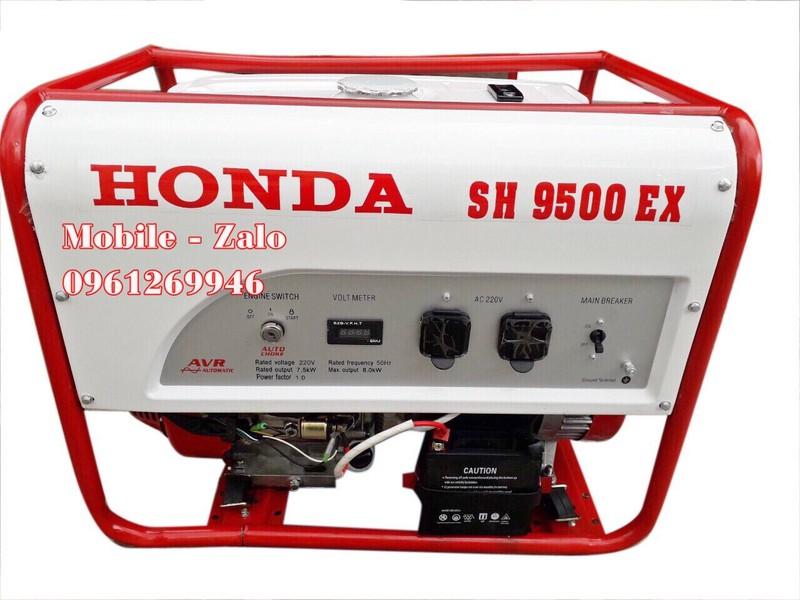 www.kenhraovat.com: Máy phát điện Honda SH9500EX công suất 8.5kw đề nổ