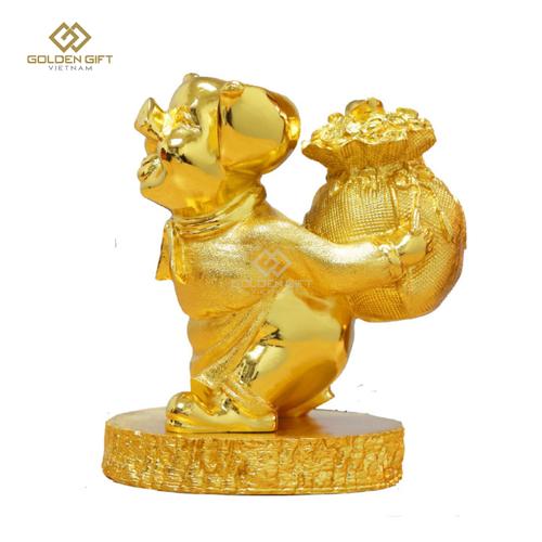 Tượng Heo vàng Đại cát - Golden Gift Việt Nam