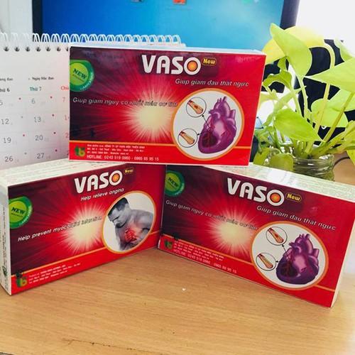 Vaso New - điều trị động mạch vành