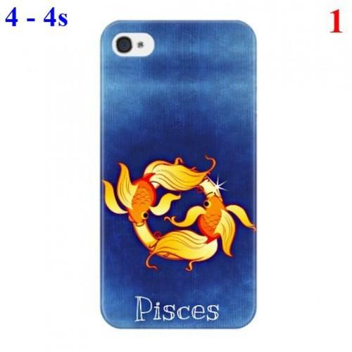 Ốp lưng iPhone 4 - 4s hình 12 Cung hoàng đạo