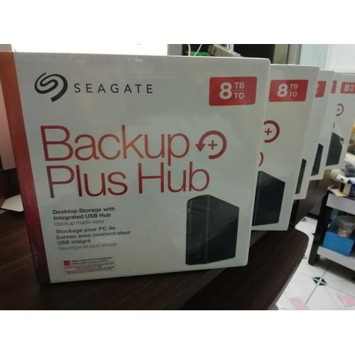 Ổ cứng di động 8T Seagate backup Hub Plus