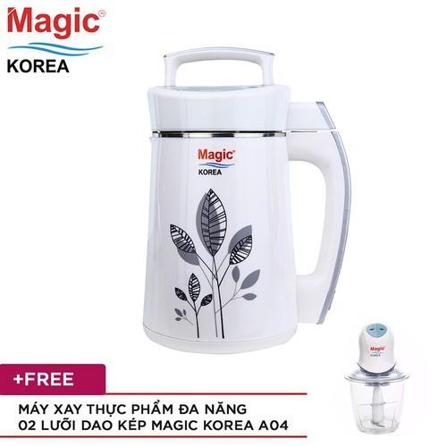 Máy làm sữa đậu nành Magic Korea A68 + Máy xay Magic Korea A04 - 8984752 , 18628127 , 15_18628127 , 2156000 , May-lam-sua-dau-nanh-Magic-Korea-A68-May-xay-Magic-Korea-A04-15_18628127 , sendo.vn , Máy làm sữa đậu nành Magic Korea A68 + Máy xay Magic Korea A04