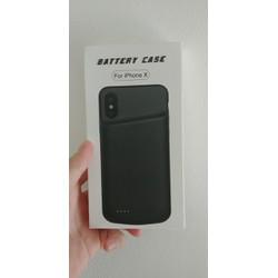 Ốp lưng kiêm sạc dự phòng cho Iphone X 4000mah