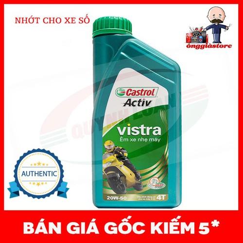 Nhớt Castrol Vistra 20W-50 loại 1 Lít chính hãng hàng có sẵn PT53