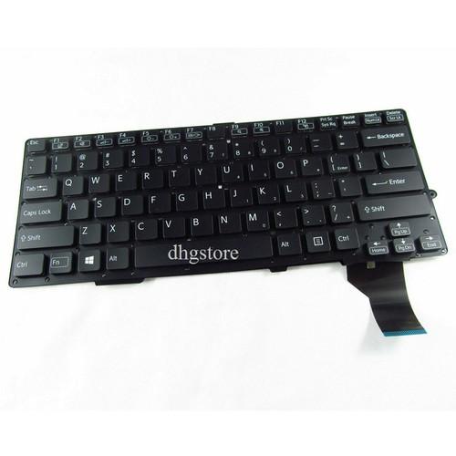 Bàn phím laptop Sony SVS13 SVS-13 SVS13A SVS-13A MÀU ĐEN