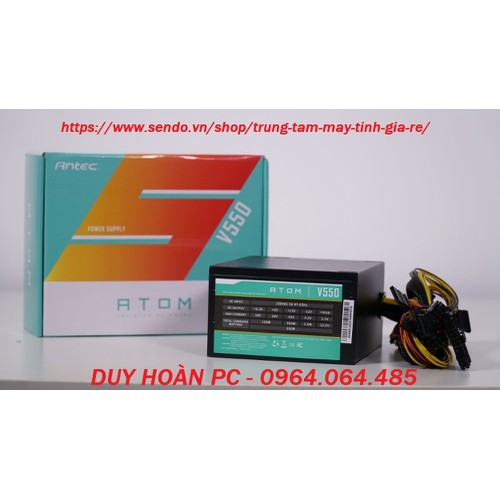 NGUỒN ANTEC 550W  ATOM V550  MỚI bảo hành 3 năm. - 4810461 , 18633318 , 15_18633318 , 650000 , NGUON-ANTEC-550W-ATOM-V550-MOI-bao-hanh-3-nam.-15_18633318 , sendo.vn , NGUỒN ANTEC 550W  ATOM V550  MỚI bảo hành 3 năm.