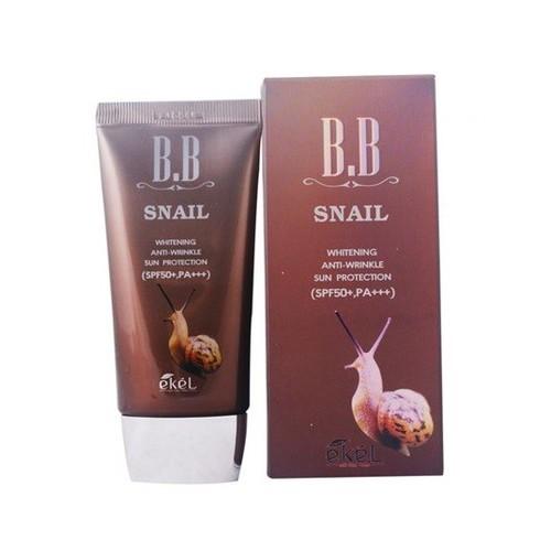 Kem nền đa tác dụng Ekel BB Cream Snail SPF50+PA+++ 50ml