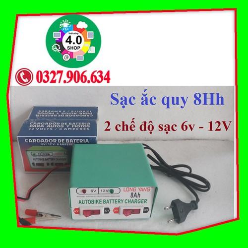 Bộ sạc bình Acquy tự động 2 chế độ sạc 6V -12V cho xe Ô tô, xe máy.. - 7643442 , 18630346 , 15_18630346 , 190000 , Bo-sac-binh-Acquy-tu-dong-2-che-do-sac-6V-12V-cho-xe-O-to-xe-may..-15_18630346 , sendo.vn , Bộ sạc bình Acquy tự động 2 chế độ sạc 6V -12V cho xe Ô tô, xe máy..