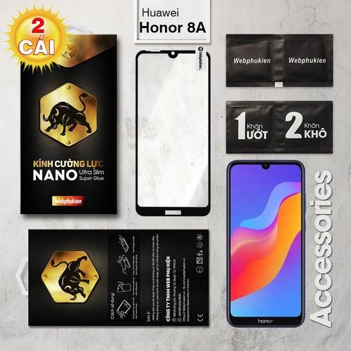 Combo 2 Miếng kính cường lực Huawei Honor 8A Full Webphukien đen - 8984198 , 18627297 , 15_18627297 , 117000 , Combo-2-Mieng-kinh-cuong-luc-Huawei-Honor-8A-Full-Webphukien-den-15_18627297 , sendo.vn , Combo 2 Miếng kính cường lực Huawei Honor 8A Full Webphukien đen
