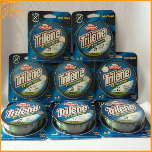 Dây cước câu cá Mỹ Trilene XT Extra Tough 20LB 0.46mm