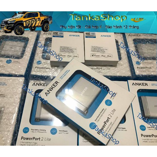Sạc ANKER PowerPort 2 Lite - 12w - 8990322 , 18637443 , 15_18637443 , 275000 , Sac-ANKER-PowerPort-2-Lite-12w-15_18637443 , sendo.vn , Sạc ANKER PowerPort 2 Lite - 12w