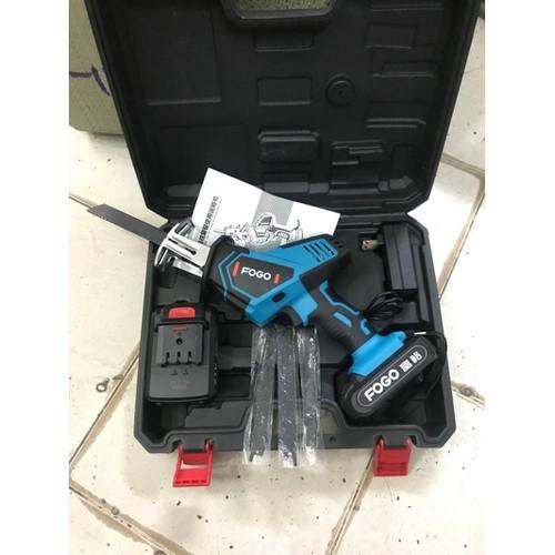 máy cưa kiếm dùng pin Fogo