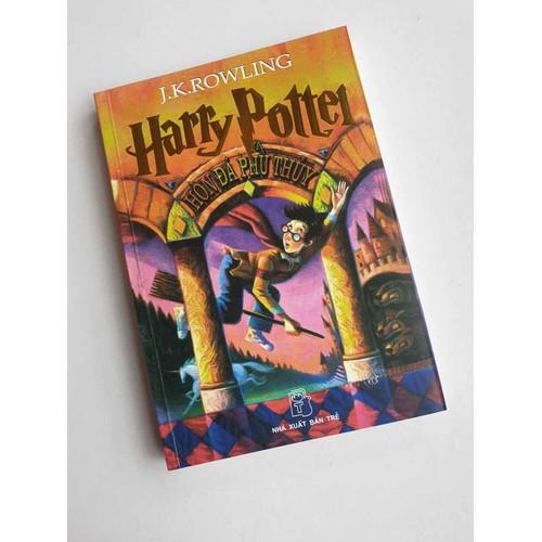 Sách harry potter hong đá phù thuỷ